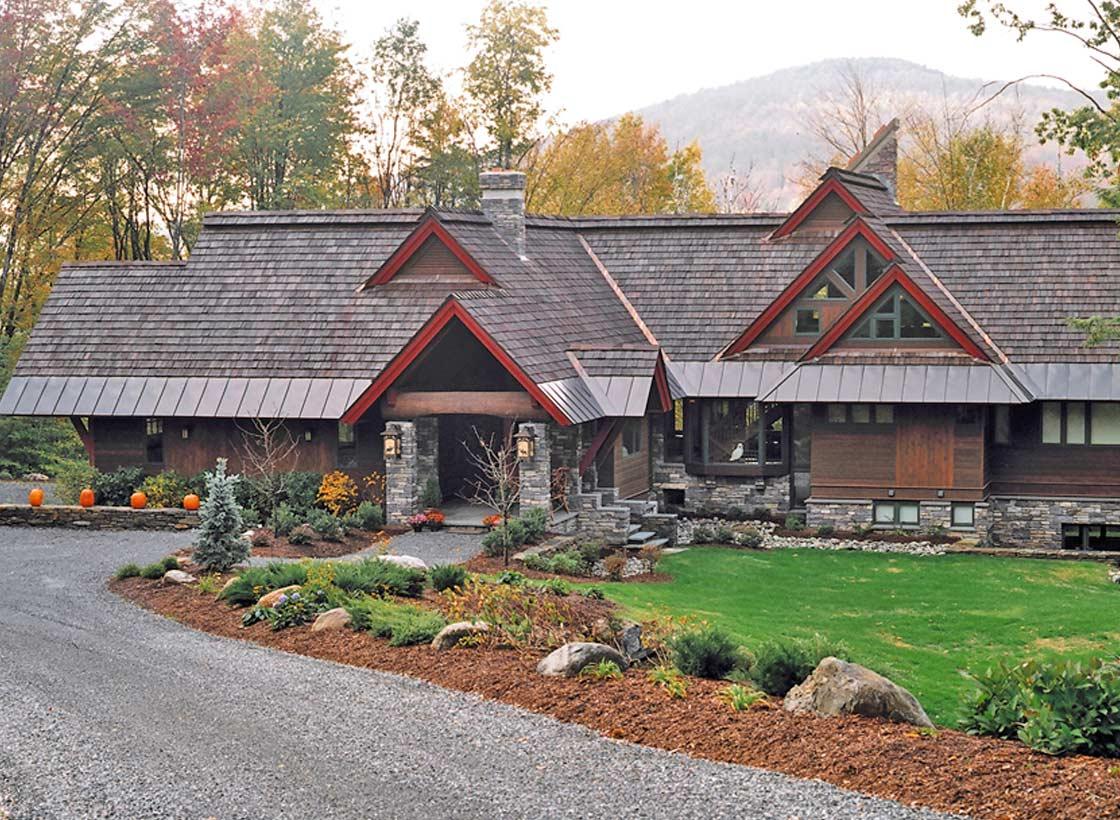 Home Design: Classic Adirondack Style Home