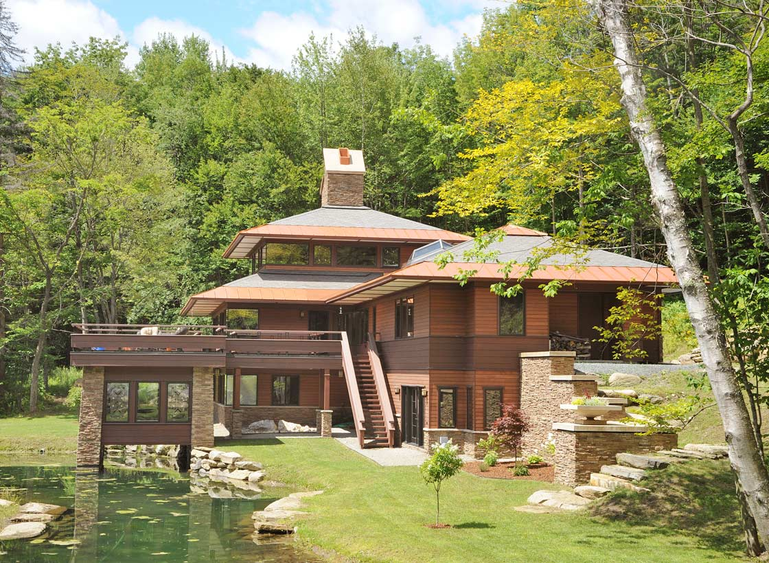 The Secret Home | RCWA | Architects | Pittsfield, Vermont