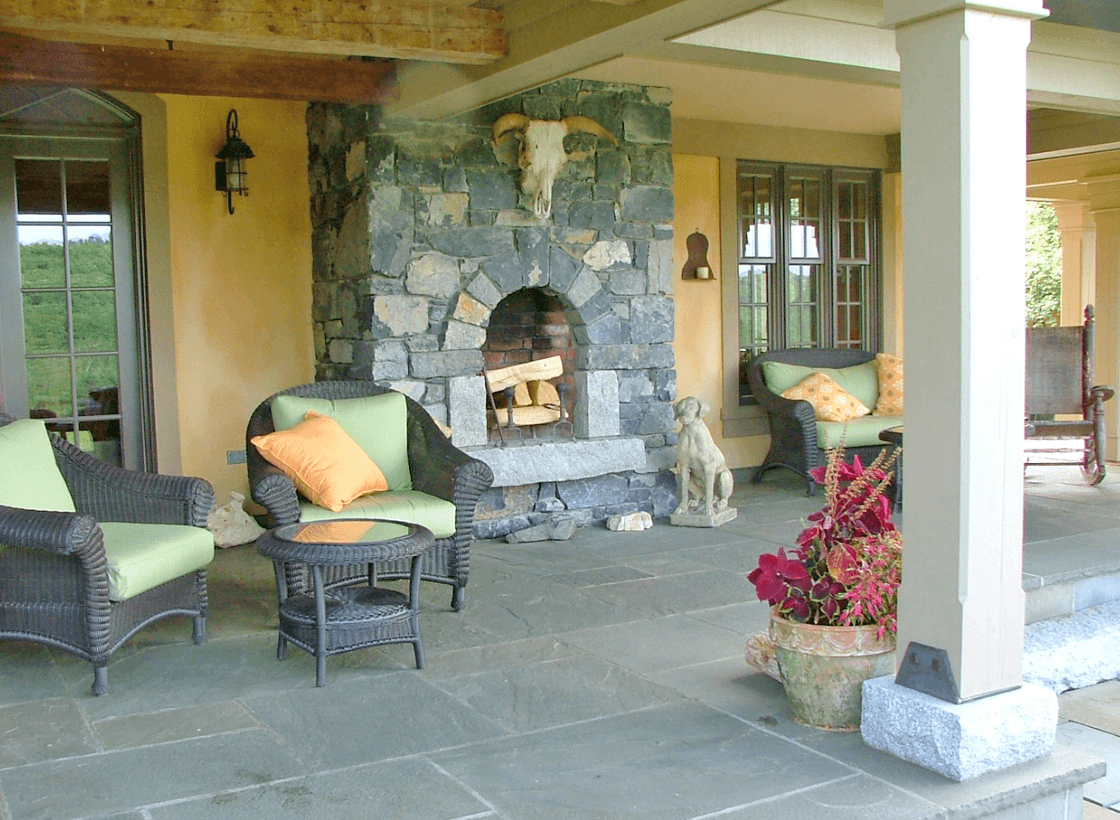 Stone Tower Overlook Exterior Living Space