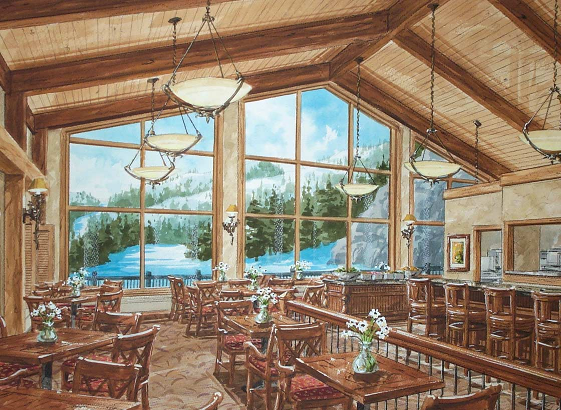 The Cliff House Restaurant A Feature Of Resort At Mt Mansfield In Stowe Vt Is Destination Like Few Others For Meal To Remember