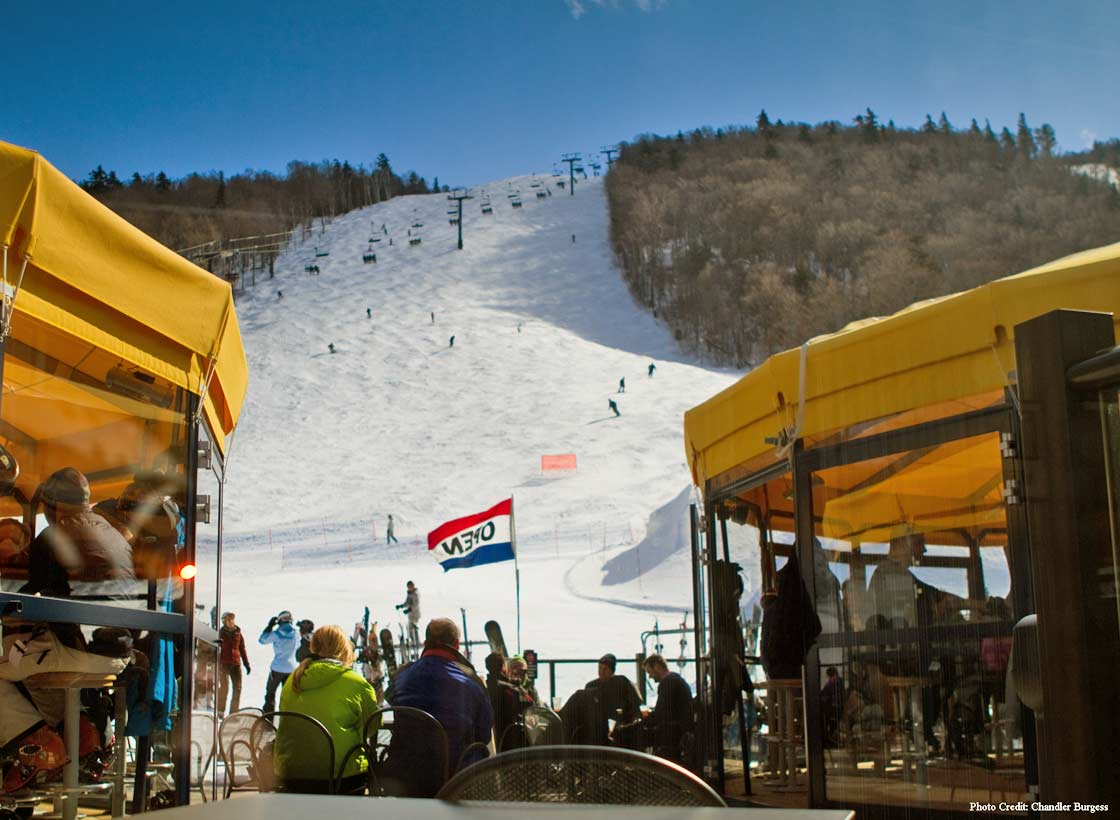 Umbrella Bars at Killington